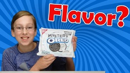 Mystery Flavor Oreo Cookies Taste Test Food Review