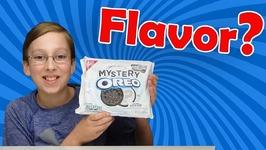 Mystery Flavor Oreo Cookies Taste Test Food Review