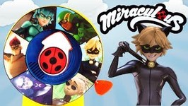 Miraculous Ladybug Season 3 Heroes Spin the Wheel Game