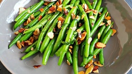Side Dish Recipe-Sauteed Green Beans With Almonds And Tarragon