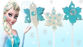 Play Doh Making Colorful Sparkle Disney Princess Frozen Elsa Popsicle Shoes High Heels Toys For Kids