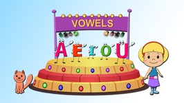 House of Vowels  Learn the Vowels  Children Learning Songs and Original Songs for Kids
