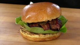 Bourbon Butter Bacon Burger