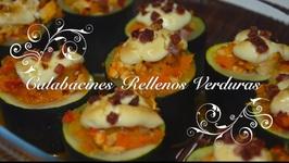 Calabacines Rellenos De Verduras / Dieta Con Thermomix  / Recetas Thermomix Dieta / Receta De Dieta