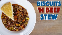 Beef Stew And Biscuits Recipe So Great You'll Eat It All