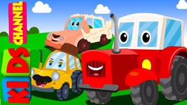 Kids Channel - Tractor Song - Vehicle Songs - Nursery Rhymes For Babies