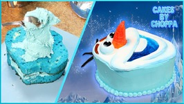 Olaf Cake Topper (How To) - Competition Over