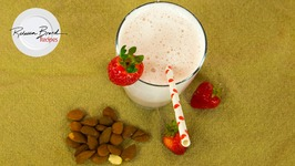 How To Make Strawberry Almond Milk - Best Recipe