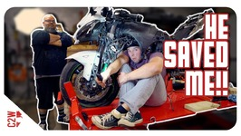 I HAD to call for HELP - Wrecked Bike Rebuild - S2 - Ep 06