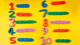 Play Doh Numbers With Spelling - 1-10 - Number Spelling 1 To 10 Collection  Kids Learn To Count