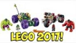 LEGO Marvel - Hulk vs Red Hulk 2017 Superheroes FIRST LOOK