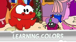 Learning Colors with Om Nom - A Tangled Story