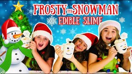 Frosty The Snowman Edible Marshmallow Slime