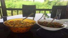 Indian Food On Kerala Houseboat - South Indian Food Kerala Houseboat Guide