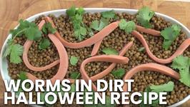 Worms In Dirt - Halloween Recipe