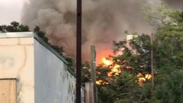 Smoke From Lee Elementary School Fire Rises Over Tampa