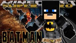 Minecraft SUPER HEROS - Little Donny - BATMAN & SPIDER DOG SAVE THE CITY