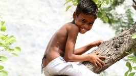 Boy With Hairy Tail Worshipped As God In India