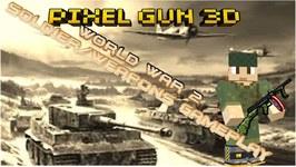 Pixel Gun 3D - World War 2 Soldier Gameplay