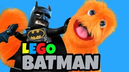 THE LEGO BATMAN MOVIE GIANT EGG SURPRISE TOYS! Lego Stop Motion Superhero in real life for kids