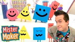 New - The Shapes Dance - Mister Maker & The Shapes Dancing - Dancing Music For Children