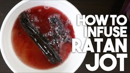 How To Infuse RATAN JOT - Red Colouring For Curries