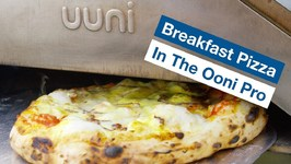 Breakfast Pizza The Aussie In The Ooni Pro Wood Oven