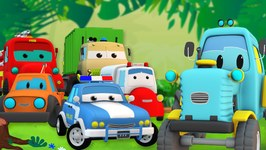 Road Rangers - The Tractor Who Cried Thief - Cartoon Cars for Kids