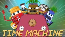 Time Machine - Super Car Royce - Cartoon Videos For Children - Kids Channel