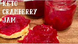 Keto Homemade Cranberry Jam