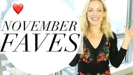 November Favorites - Beauty Fitness Faves