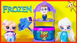 Who will dunk Benson in the Toy Story 4 DUNK TANK GAME? Team Frozen or Team Toy Story?