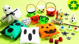 Miniature Halloween Party Supplies - 10 Easy DIY Miniatures