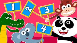 Animals Learn To Count - Animal Sound Song - Learn Animals For Children - Kids Tv Nursery Rhymes