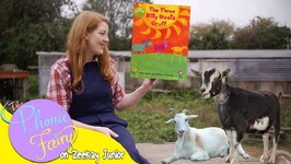 The Three Billy Goats Gruff  Read By The Phonic Fairy