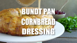 Bundt Pan Cornbread Dressing