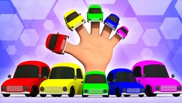 Cars Finger Family - Kindergarten Nursery Rhymes For Babies
