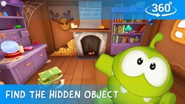 Find Hidden Objects in 360 - Om Nom Stories- Mysterious House