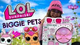 LOL Surpirse!  Jumbo Biggie Pets  Blind Bag Pet Surprises!