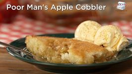 Poor Mans Apple Cobbler