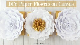 How to Make Paper Flowers  Home Made Luxe Craft Subscription Box May Project