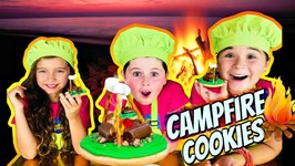 How To Make Campfire Cookies - Kids Easy Recipes