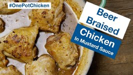 Glen's Best Beer Braised Chicken In Honey Mustard Sauce