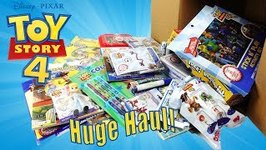 Toy Story 4 Amazon Haul - Toys and Activity Books