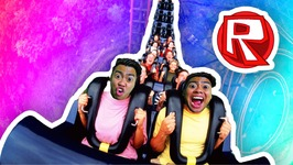 RIDING ROLLERCOASTERS - Roblox