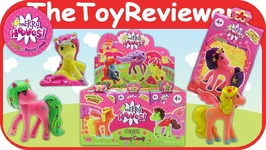 Merry Hooves Blind Bags Full Case Collect Box Gummies Candy Unboxing Toy Review
