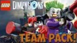 LEGO Dimensions DC COMICS - Team Pack - Free Roam (71229)
