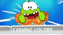 Learning Colors with Om Nom - The Magic Lamp
