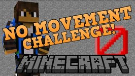 Can You Play Minecraft Without MOVING? - Minecraft No Movement Challenge - Custom Command