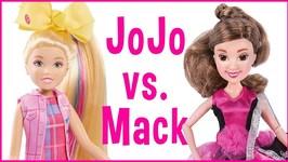 JoJo Siwa vs Mackenzie Ziegler Dance Moms Dolls Review